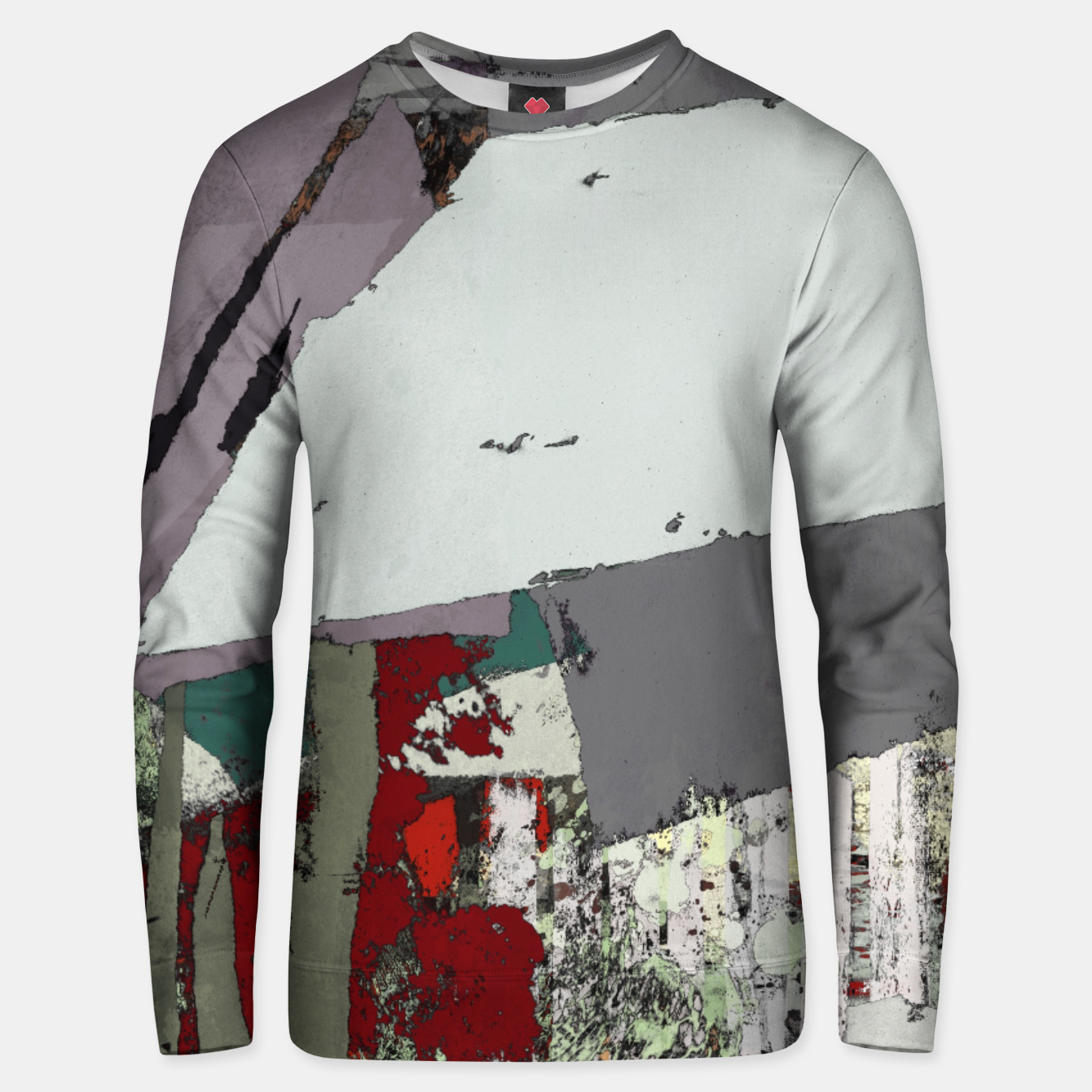 Image of The grey barrier Unisex sweater - Live Heroes