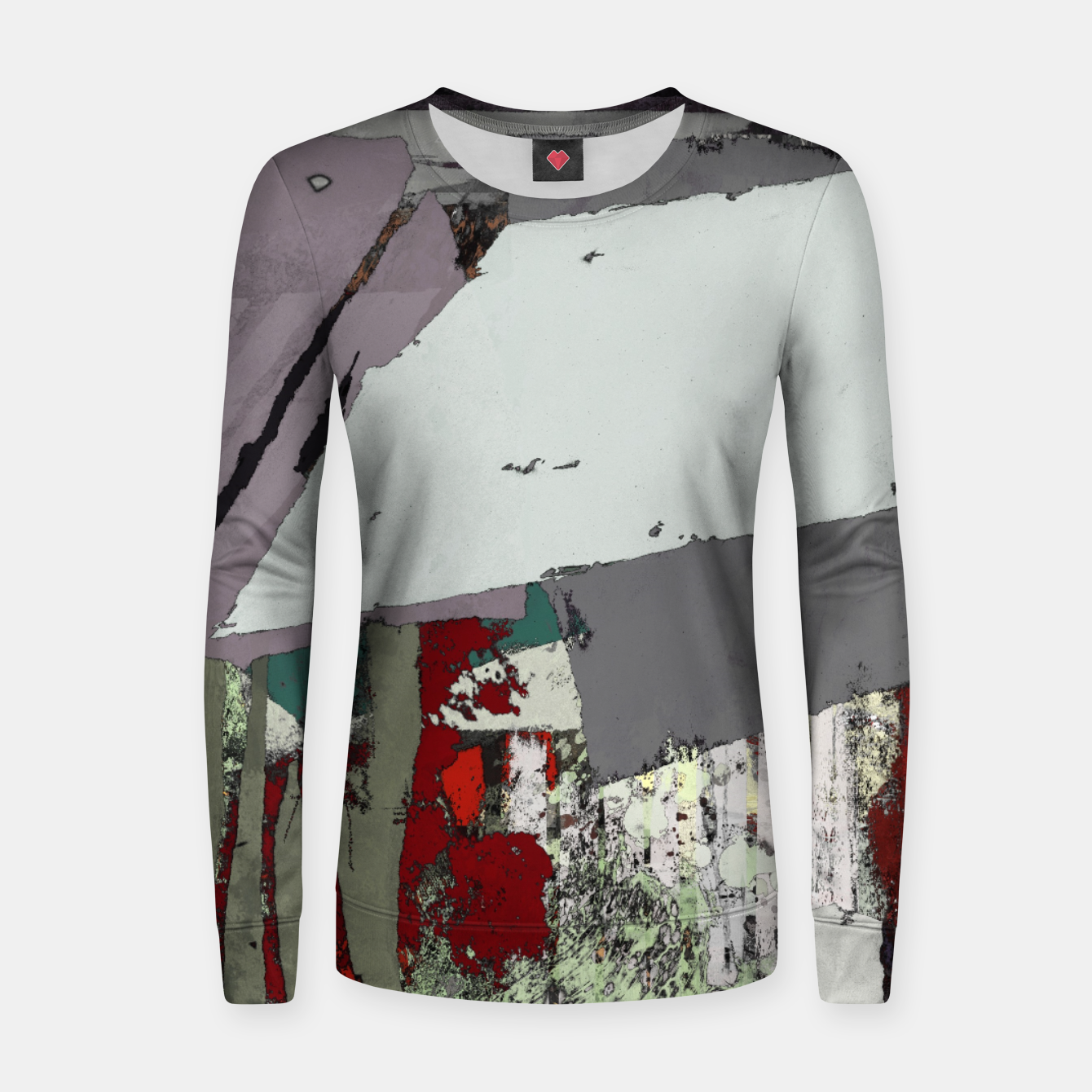 Image of The grey barrier Women sweater - Live Heroes