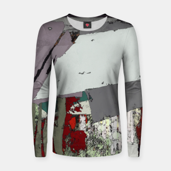 Thumbnail image of The grey barrier Women sweater, Live Heroes