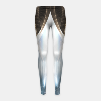 Thumbnail image of The Cradel Fractal Art Composition Girl's leggings, Live Heroes