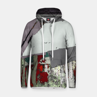 Thumbnail image of The grey barrier Hoodie, Live Heroes