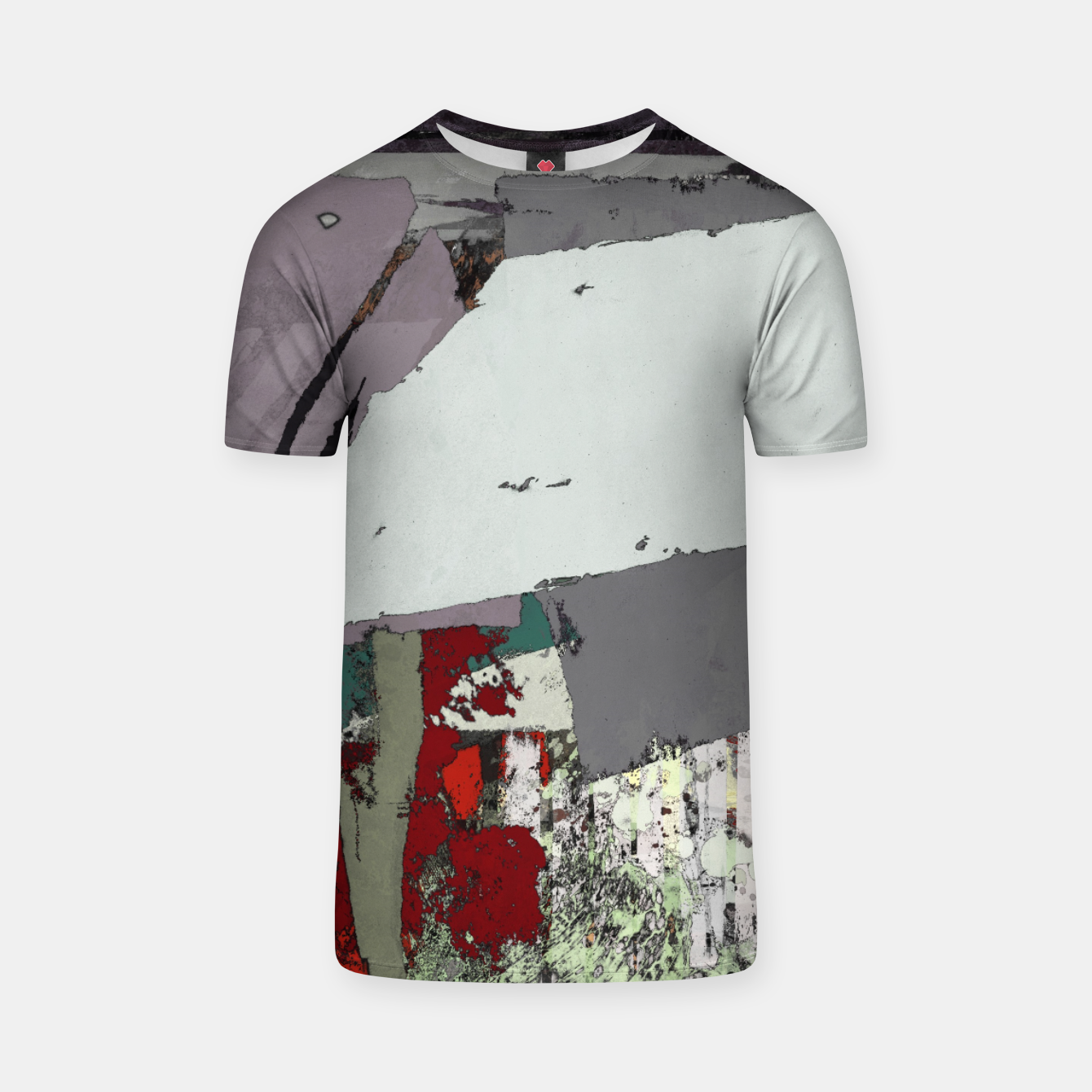 Image of The grey barrier T-shirt - Live Heroes