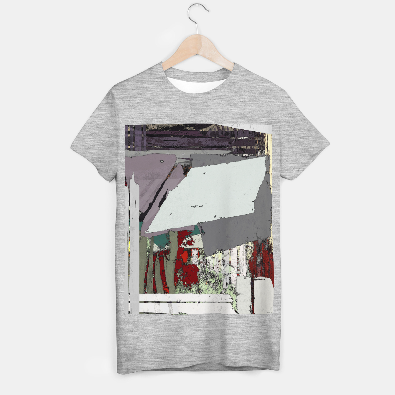 Image of The grey barrier T-shirt regular - Live Heroes