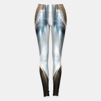 Thumbnail image of The Cradel Fractal Art Composition Leggings, Live Heroes