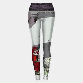 Miniaturka The grey barrier Leggings, Live Heroes