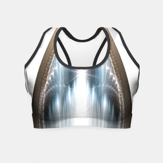 Thumbnail image of The Cradel Fractal Art Composition Crop Top, Live Heroes