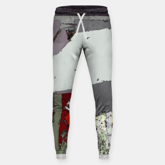 Thumbnail image of The grey barrier Sweatpants, Live Heroes
