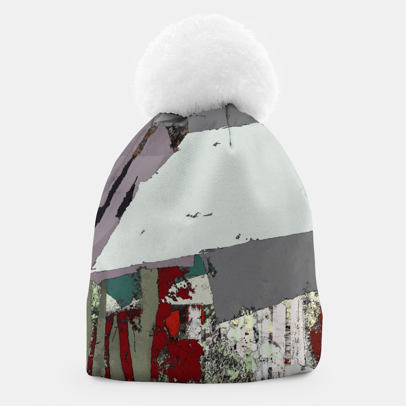 Image of The grey barrier Beanie - Live Heroes