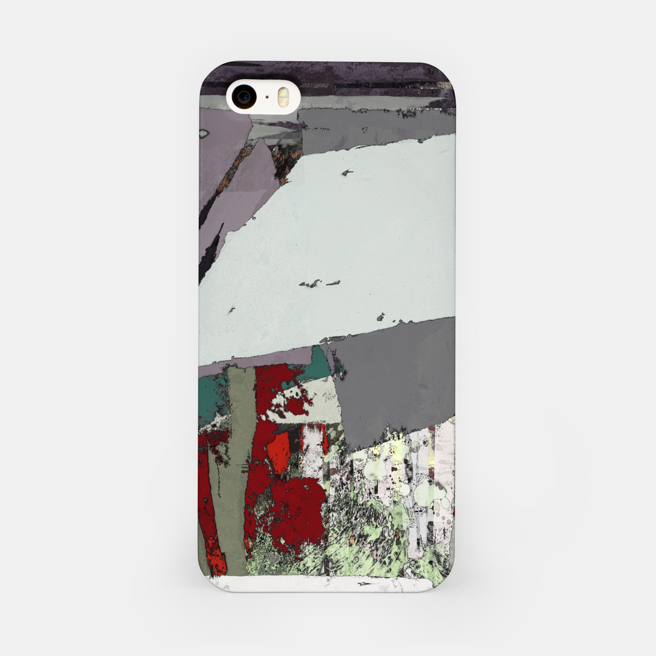 Image of The grey barrier iPhone Case - Live Heroes