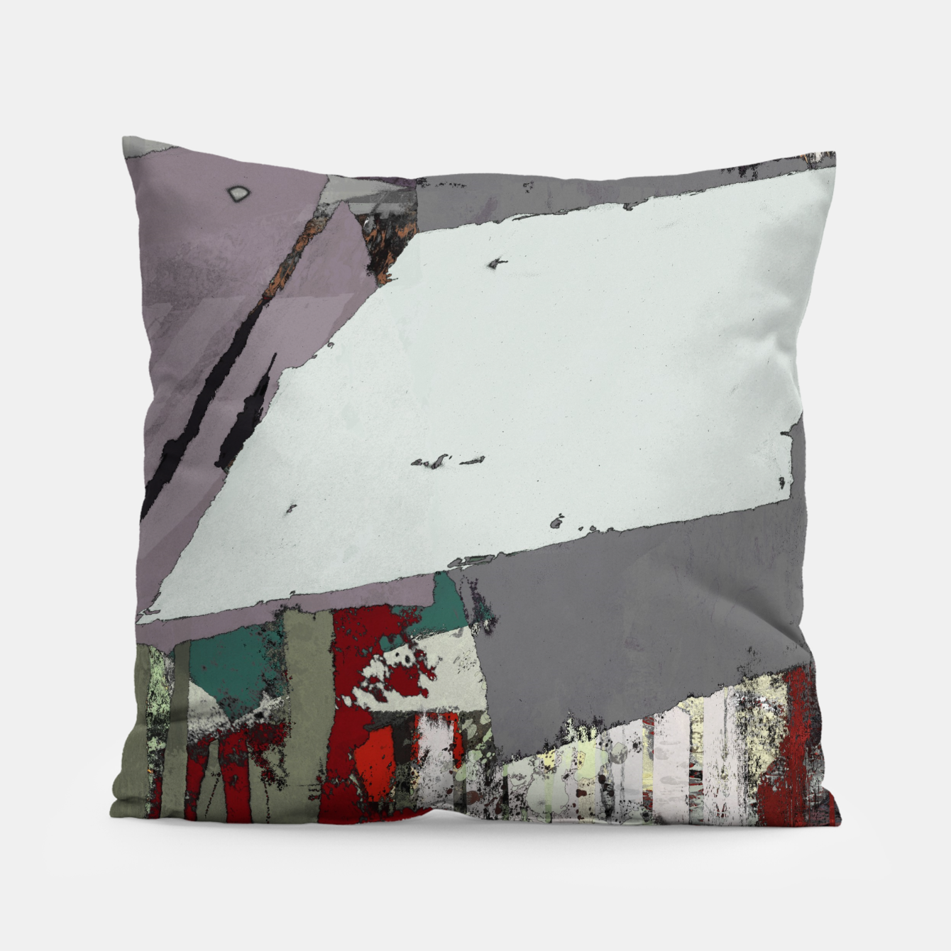 Image of The grey barrier Pillow - Live Heroes