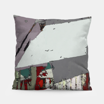 Thumbnail image of The grey barrier Pillow, Live Heroes