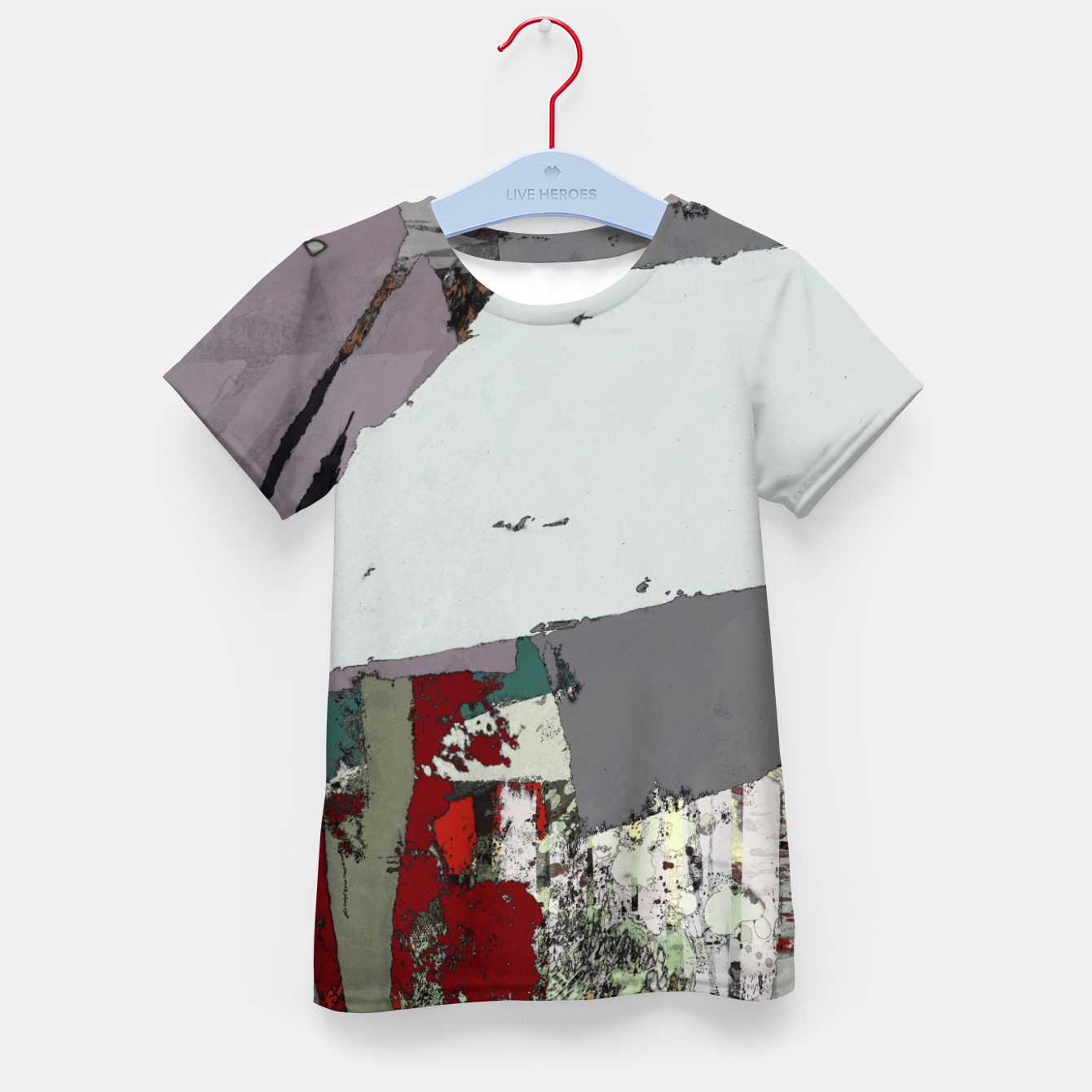 Image of The grey barrier Kid's t-shirt - Live Heroes
