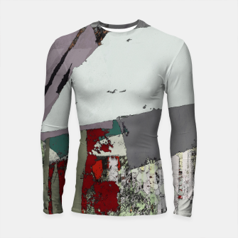 Thumbnail image of The grey barrier Longsleeve rashguard , Live Heroes