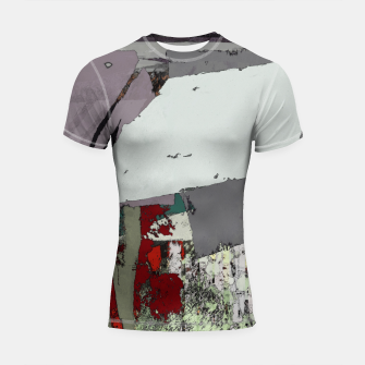 The grey barrier Shortsleeve rashguard thumbnail image