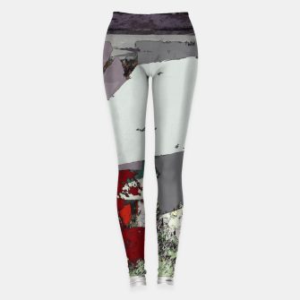 Thumbnail image of The grey barrier Leggings, Live Heroes