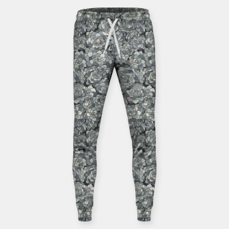 Miniatur Succulents garden in stone grey Sweatpants, Live Heroes