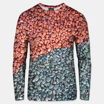 Thumbnail image of Gravel Print Pattern Texture Unisex sweater, Live Heroes