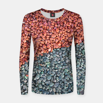 Thumbnail image of Gravel Print Pattern Texture Women sweater, Live Heroes