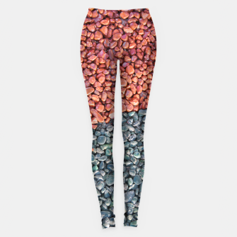 Thumbnail image of Gravel Print Pattern Texture Leggings, Live Heroes