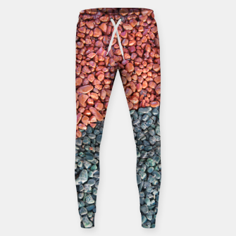 Thumbnail image of Gravel Print Pattern Texture Sweatpants, Live Heroes