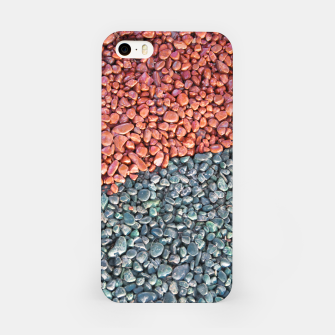 Gravel Print Pattern Texture iPhone Case obraz miniatury