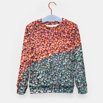Thumbnail image of Gravel Print Pattern Texture Kid's sweater, Live Heroes