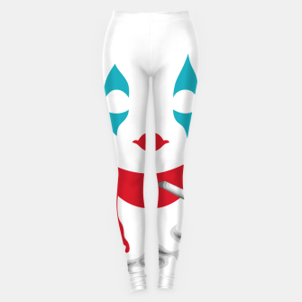 Smoking Joker Leggings thumbnail image