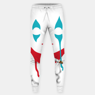 Smoking Joker Sweatpants thumbnail image