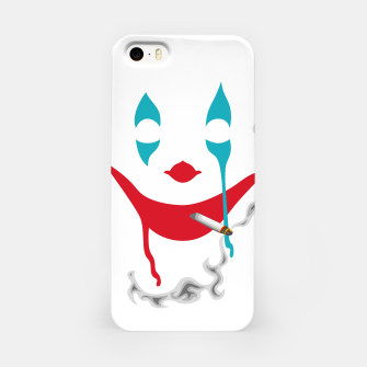 Smoking Joker iPhone Case thumbnail image