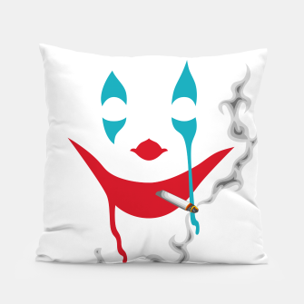 Smoking Joker Pillow thumbnail image