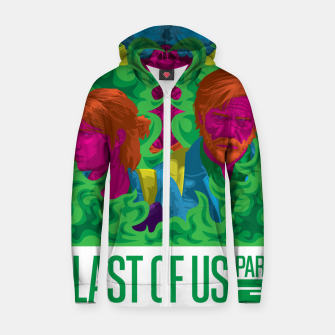 Thumbnail image of The Last Of Us 2 Vibrant Variant Zip up hoodie, Live Heroes