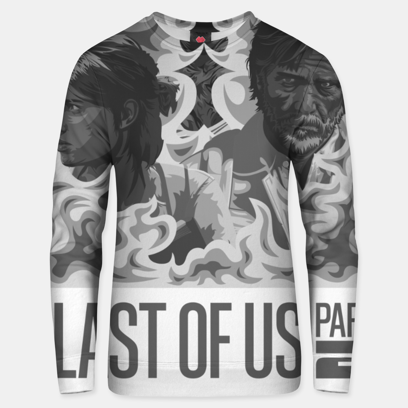 Image of The Last of Us 2 Black & White Variant Unisex sweater - Live Heroes