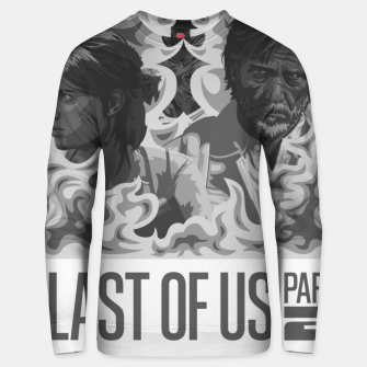 Thumbnail image of The Last of Us 2 Black & White Variant Unisex sweater, Live Heroes