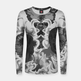 Thumbnail image of The Last of Us 2 Black & White Variant Women sweater, Live Heroes