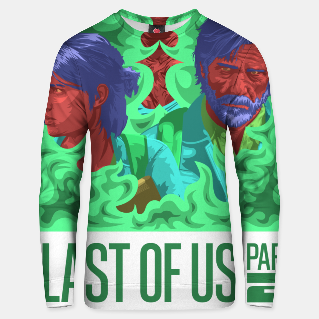 Image of The Last of Us 2 Unisex sweater - Live Heroes
