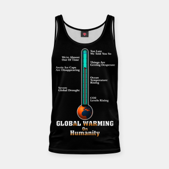 Miniature de image de Global Warming A War On Humanity Tank Top, Live Heroes