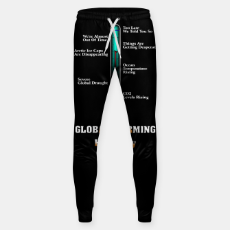 Miniature de image de Global Warming A War On Humanity Sweatpants, Live Heroes