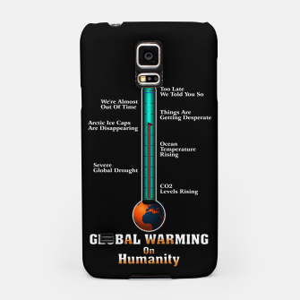 Thumbnail image of Global Warming A War On Humanity Samsung Case, Live Heroes