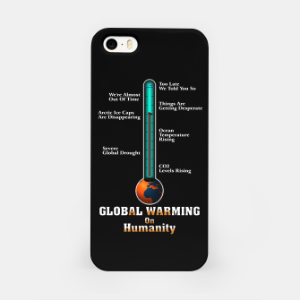 Miniature de image de Global Warming A War On Humanity iPhone Case, Live Heroes