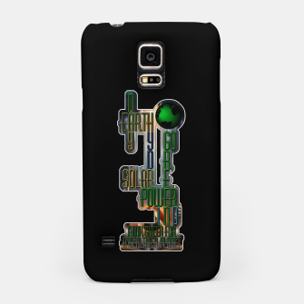 Thumbnail image of Earth Day Go Green You Are The Solution Samsung Case, Live Heroes