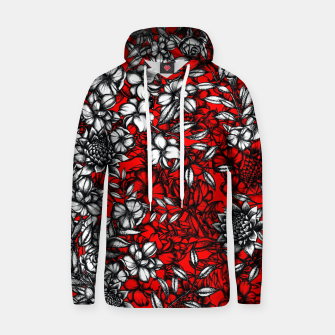 White Flowers Hoodie thumbnail image