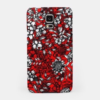 White Flowers Samsung Case thumbnail image