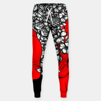 Thumbnail image of Red Scream Sweatpants, Live Heroes