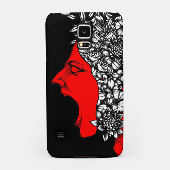 Thumbnail image of Red Scream Samsung Case, Live Heroes