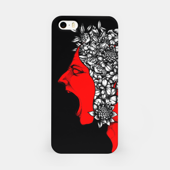 Thumbnail image of Red Scream iPhone Case, Live Heroes