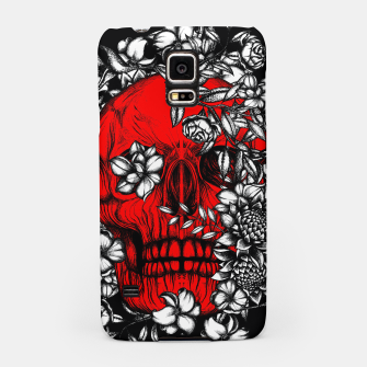 Thumbnail image of Red Skull Samsung Case, Live Heroes