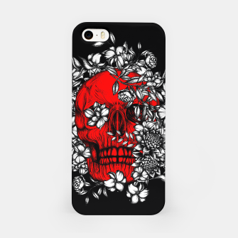 Thumbnail image of Red Skull iPhone Case, Live Heroes