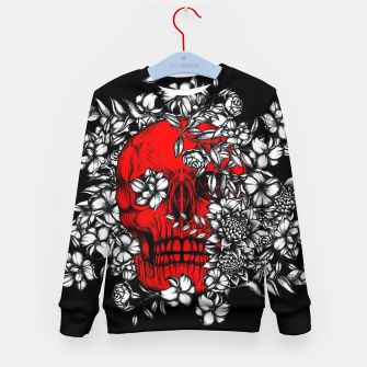 Thumbnail image of Red Skull Kid's sweater, Live Heroes