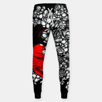 Thumbnail image of Red Geisha Sweatpants, Live Heroes