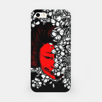 Thumbnail image of Red Geisha iPhone Case, Live Heroes